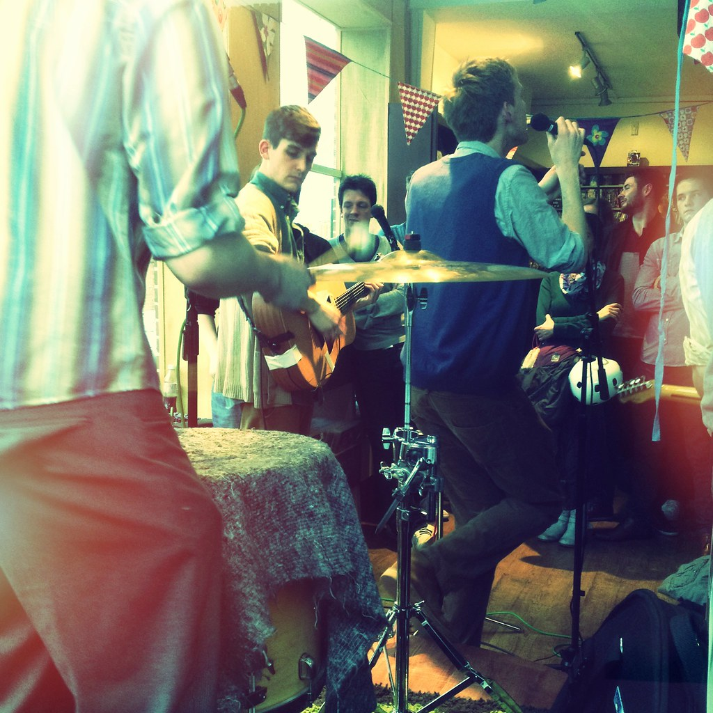 Spring Offensive gig at Truck Store, Oxford - Photo by Flickr user garrettc