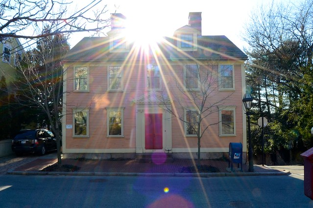 Pink House + Flare