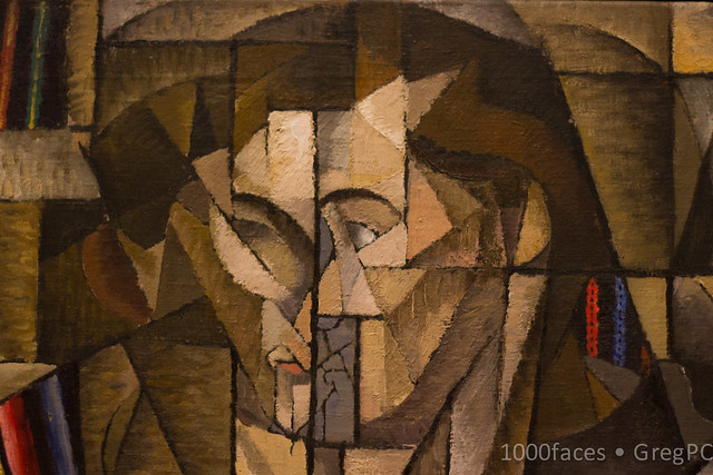 Face-cubist man