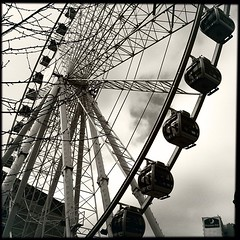 Manchester Wheel on the #Manchester #instameet with @hipstamatic #disposable #Blackeys44