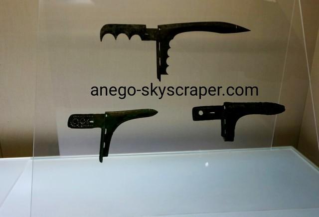 上海博物館 武器も時代が下ると鋭く