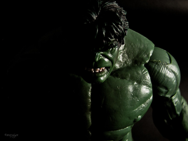 Marvel Hulk Face off toy