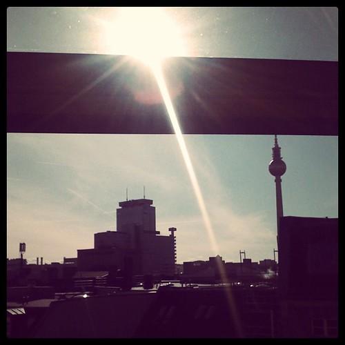 Sonne scheint. nice!
