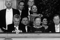 Heinz Fischer y el matrimonio Ban Ki Moon