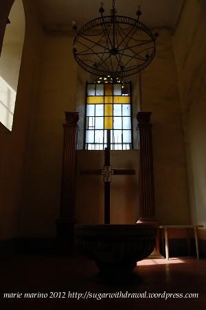 Molo Cathedral Baptismal Font