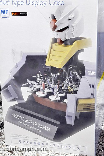 MSG RX-78-2 Bust Type Display Case (Mobile Suit Gundam) (5)