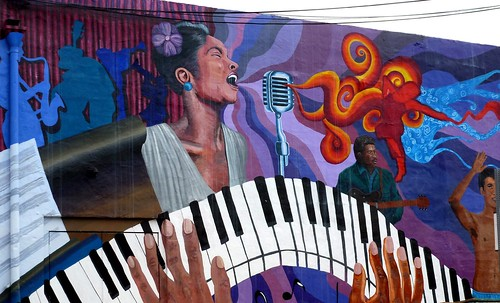 Music Mural by dyannaanfang