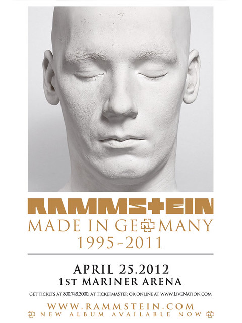 Rammstein at 1st Mariner Arena