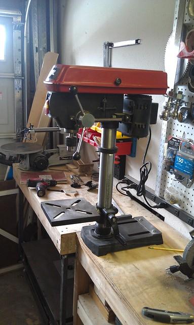 Drill Press - Side