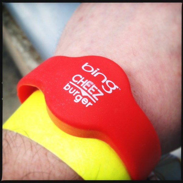 RFID wristbands for party entrance at #SXSW2012