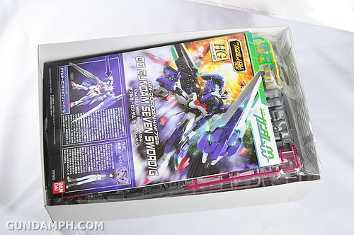 HG 00 Gundam Seven SwordG Inspection Color (C3xHobby Exclusive 2010) Unboxing Photos (4)