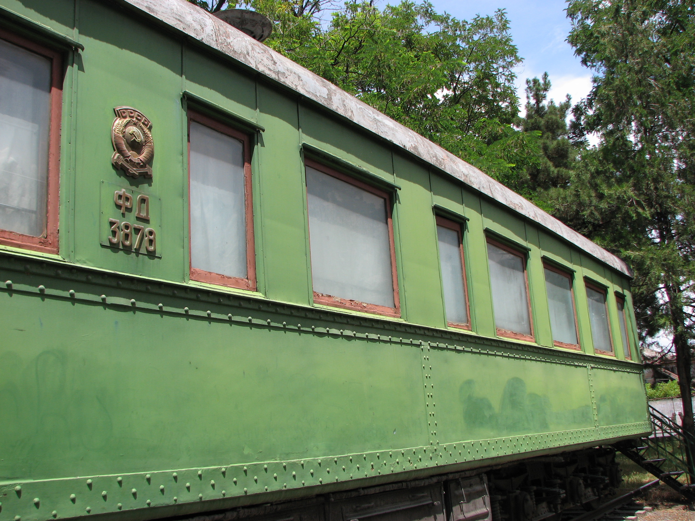 Stalin's Train in Gori - Georgia