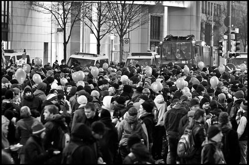 Blockade Ammonstraße/Freiberger Straße