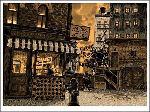 04. Ulica Sezamkowa - kolor