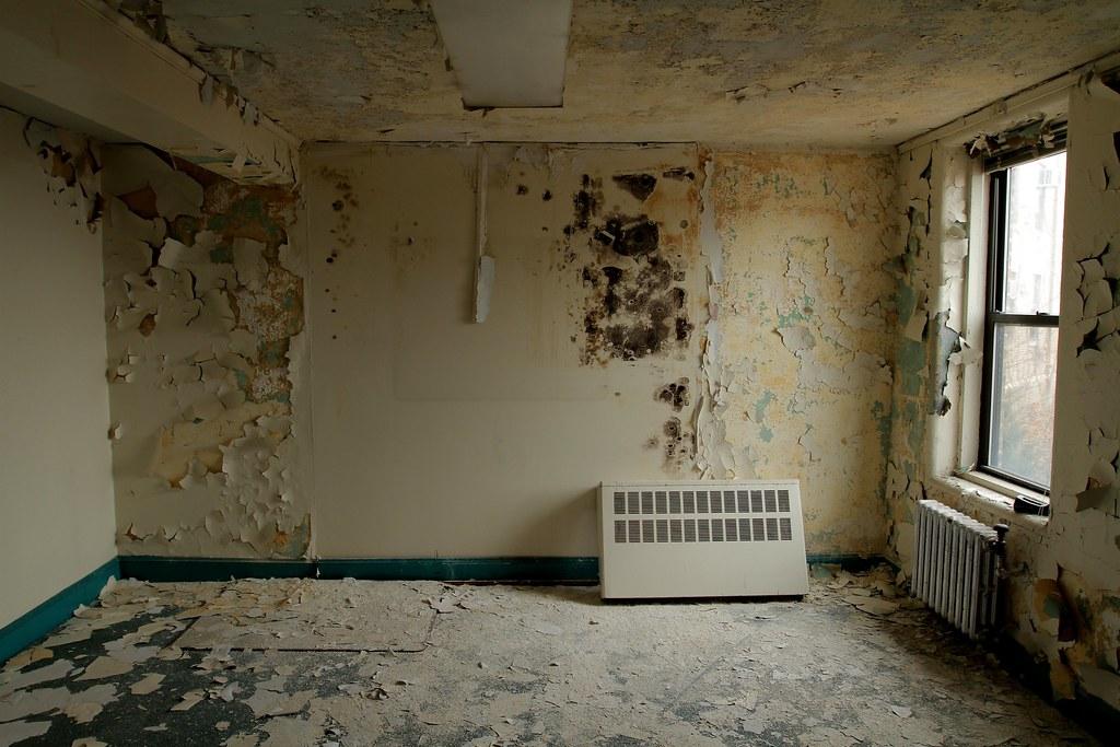 Moldy Walls Bayley Seton Hospital