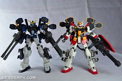 MG 1-100 Gundam HeavyArms EW Unboxing OOTB Review (116)