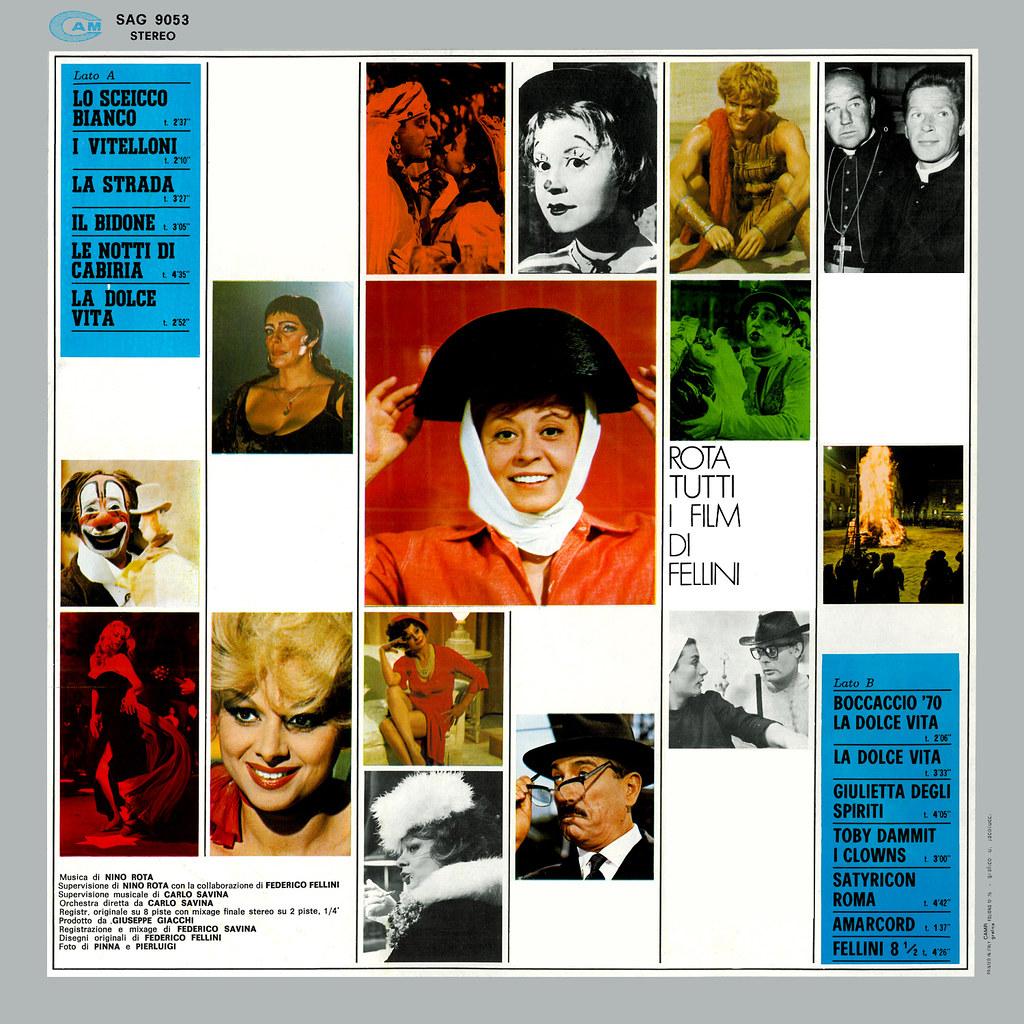 Nino Rota - Tutti i film di Fellini