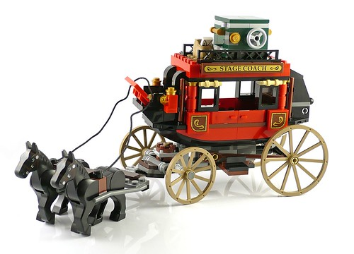 The Lone Ranger 79108 Stagecoach Escape 10