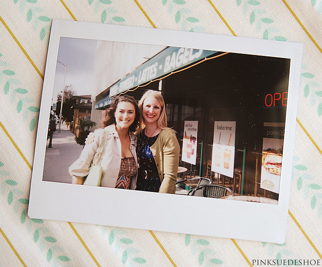 with Shannon Instax