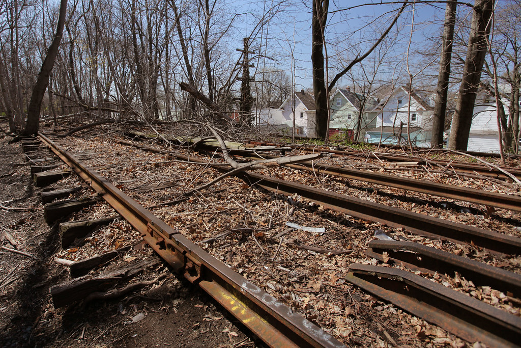 Rockaway Beach Branch Rails