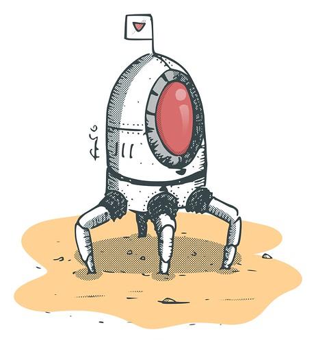 Tetrapod: equipamento de exploração do Invader Must Die
