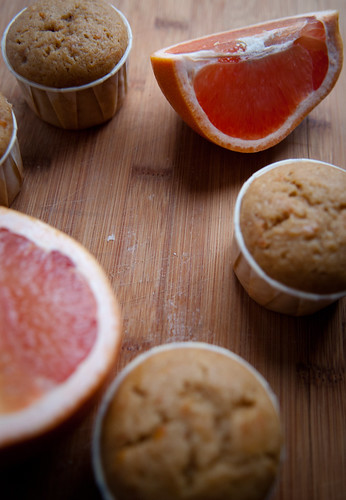 Black Tea Grapefruit Muffins