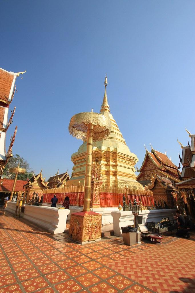 Wat Prathat Temple- Chiang Mai, Thailand