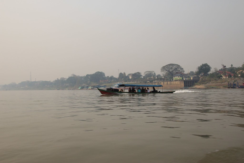 Laos Border Crossing -  Mekong River, Laos