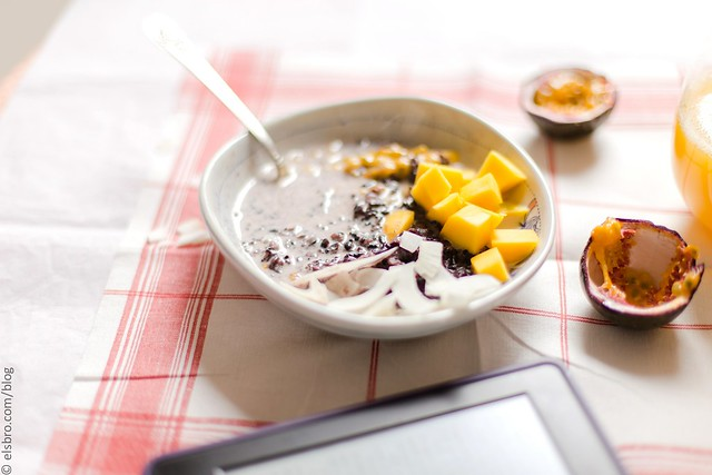 Forbidden Rice Porridge