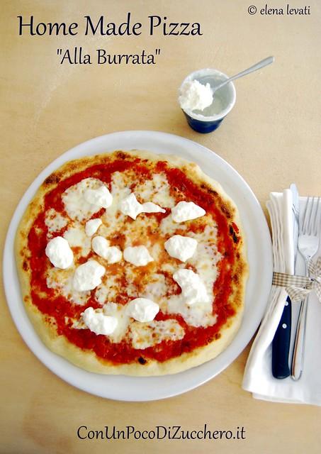Pizza alla burrata