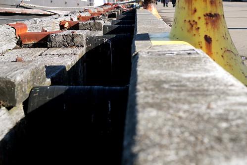 Monday: walking along the waterfront