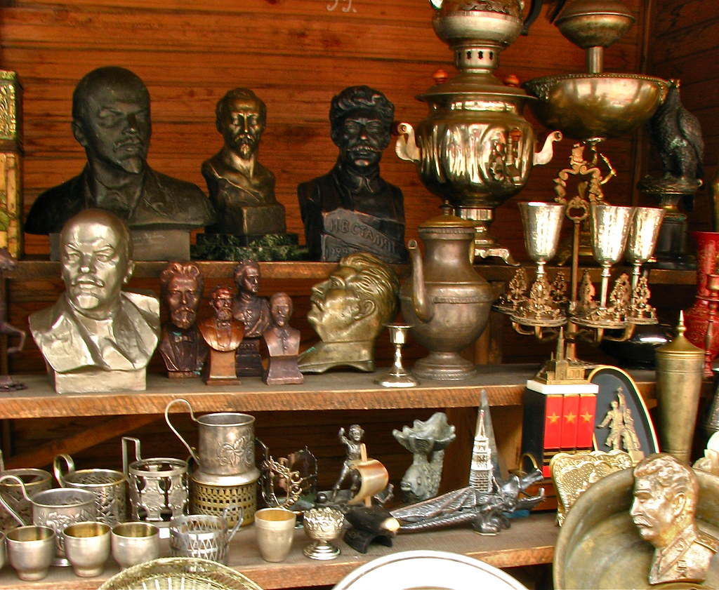 Souvenirs @ Ismailovo Park in Moscow