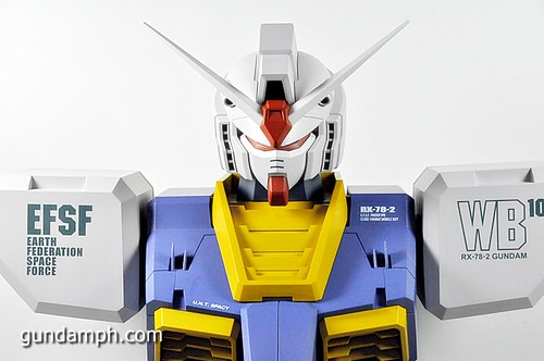 MSG RX-78-2 Bust Type Display Case (Mobile Suit Gundam) (34)
