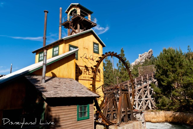 Grizzly River Run Refurbishment, Wheel House