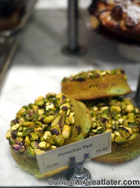 Le Pain Quotidien pistachio tart