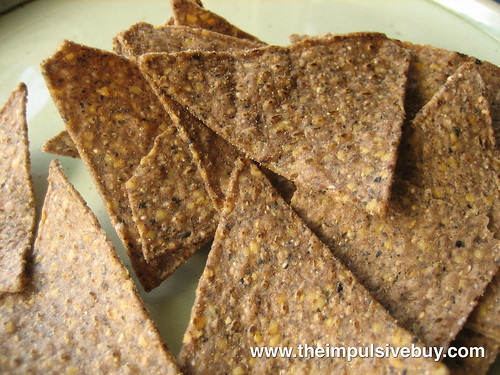 Food Should Taste Good Hemp Tortilla Chips Closeup