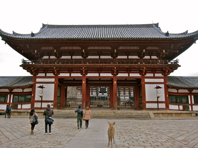 Entrance to the Todai-ji