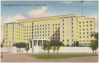 Main building, Hermann Hospital -- Houston, Texas