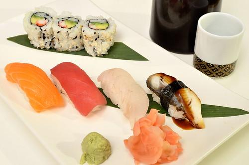 Sushi/Teriyaki Combo 1