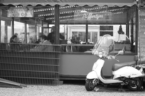 Vespa and Poffertjes