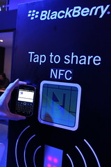 Blackberry NFC @ MWC 2012