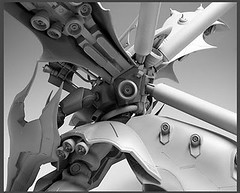 Resin Kit 1100 Nightingale  Neograde Refined Version Built (14)