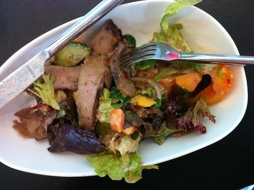 Lunch salad (half portion) at Fresco Bistro in Cork City