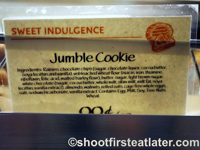 Whole Foods Market jumble cookie