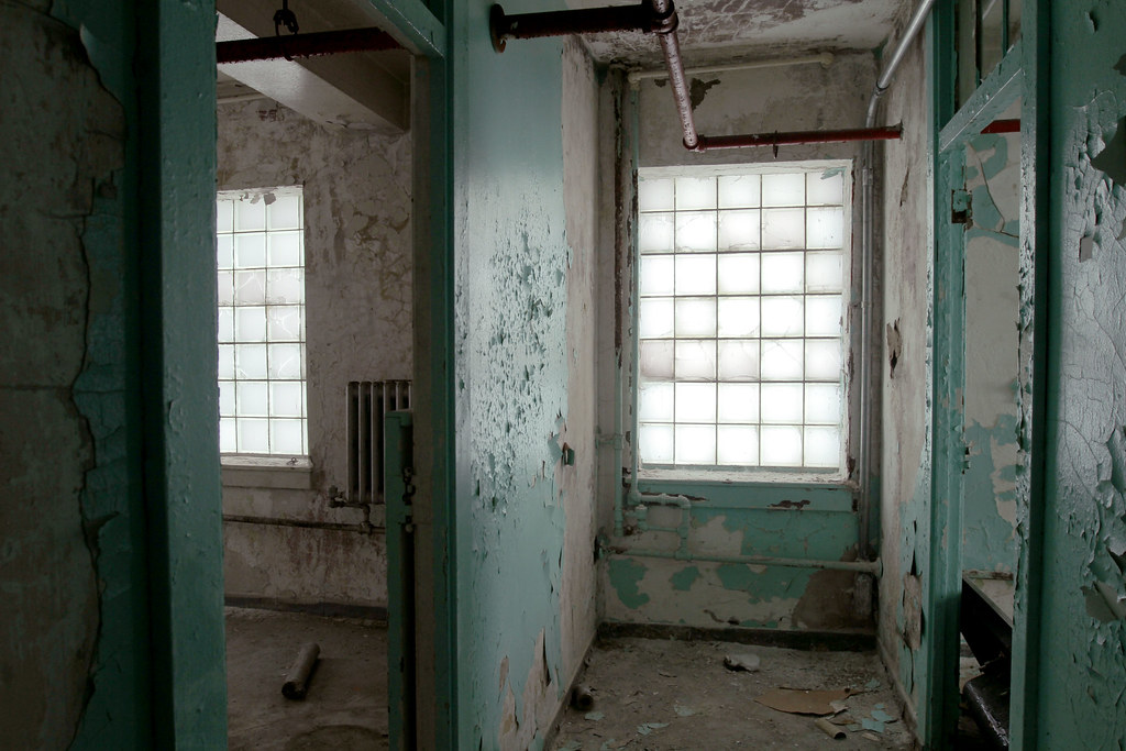 Glass Block Hallway Bayley Seton