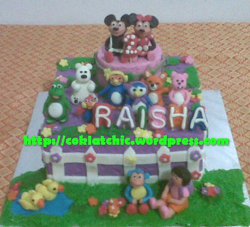 Cake Mickey, Pororo dan dora
