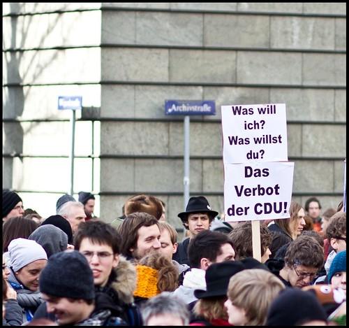 Verbot der CDU