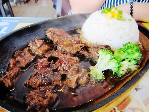 NoodleHouse sizzling beef rice