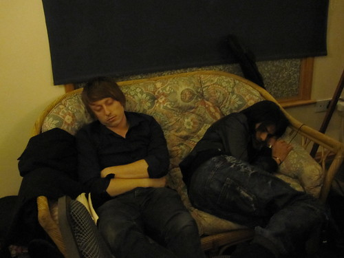Scott and Amit asleep