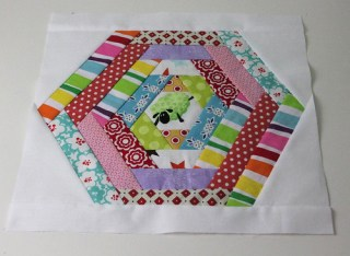 Sew & Bee Happy March Block for Kara